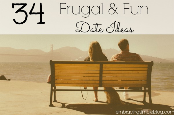 34 frugal and fun date ideas