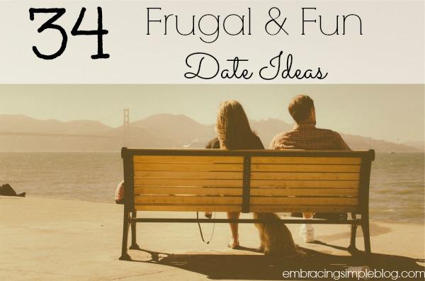 34 frugal and fun date ideas