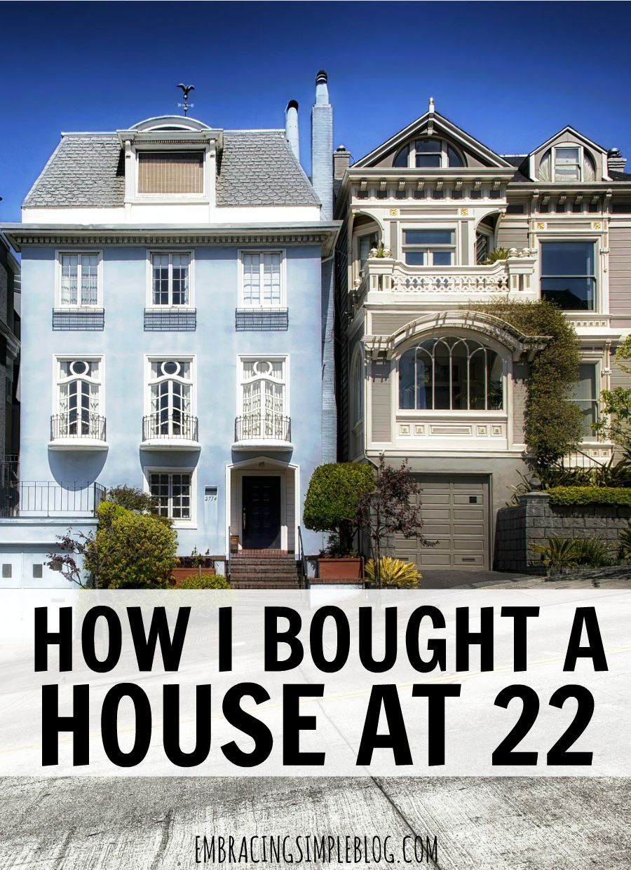 Would you like to know how to buy a home as a young adult? I share my experience with how I bought a house at 22 and how you can too!