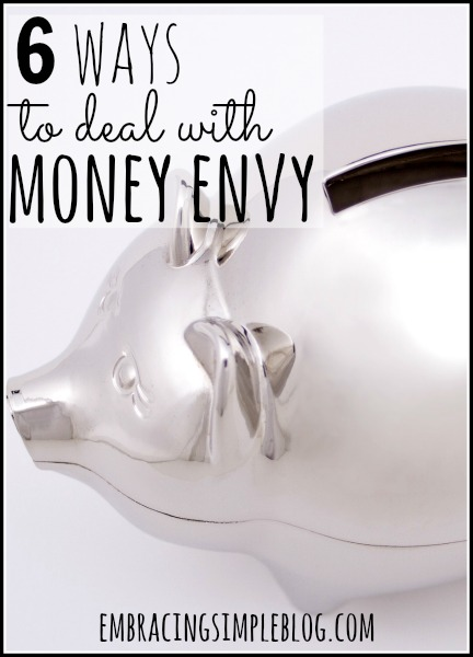 We have all had moments of feeling money envy. Don't let yourself become a hostage of envy; use these 6 healthy ways to deal with money envy today!