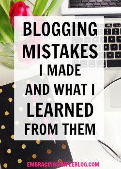 Sharing the blogging mistakes I made last month and what I learned from them, including how I increased my blog income by 361% last month! Read my July 2015 Blog Income and Traffic Report.