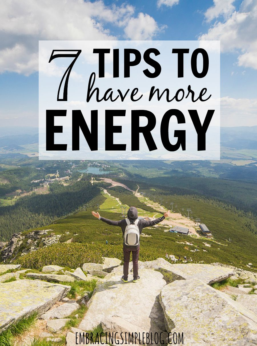 7 awesome tips to energize yourself on those days when you are dragging and can't seem to snap yourself into being productive. This is a must read!