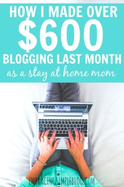 Want to know how I made over $600 through blogging last month? I'm sharing how I earn an income from blogging in my August 2015 Blog Income and Traffic Report!. Learn how to earn an income from home doing something you love!