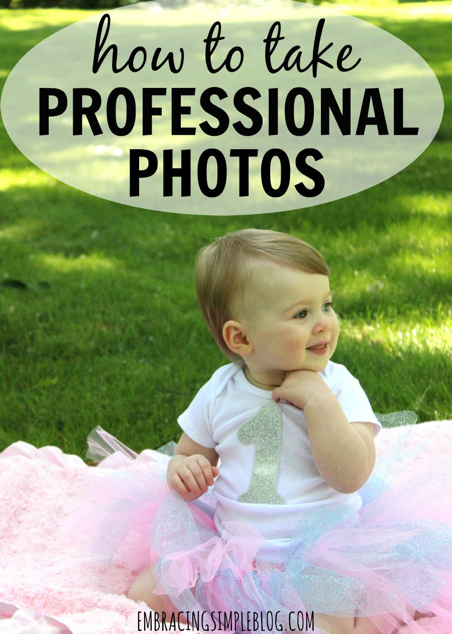 Learn how to take your own professional quality photos at home so you can save money while still having beautiful photos to display in your home. Read this great guide for easy ways to take professional looking photos on your own!