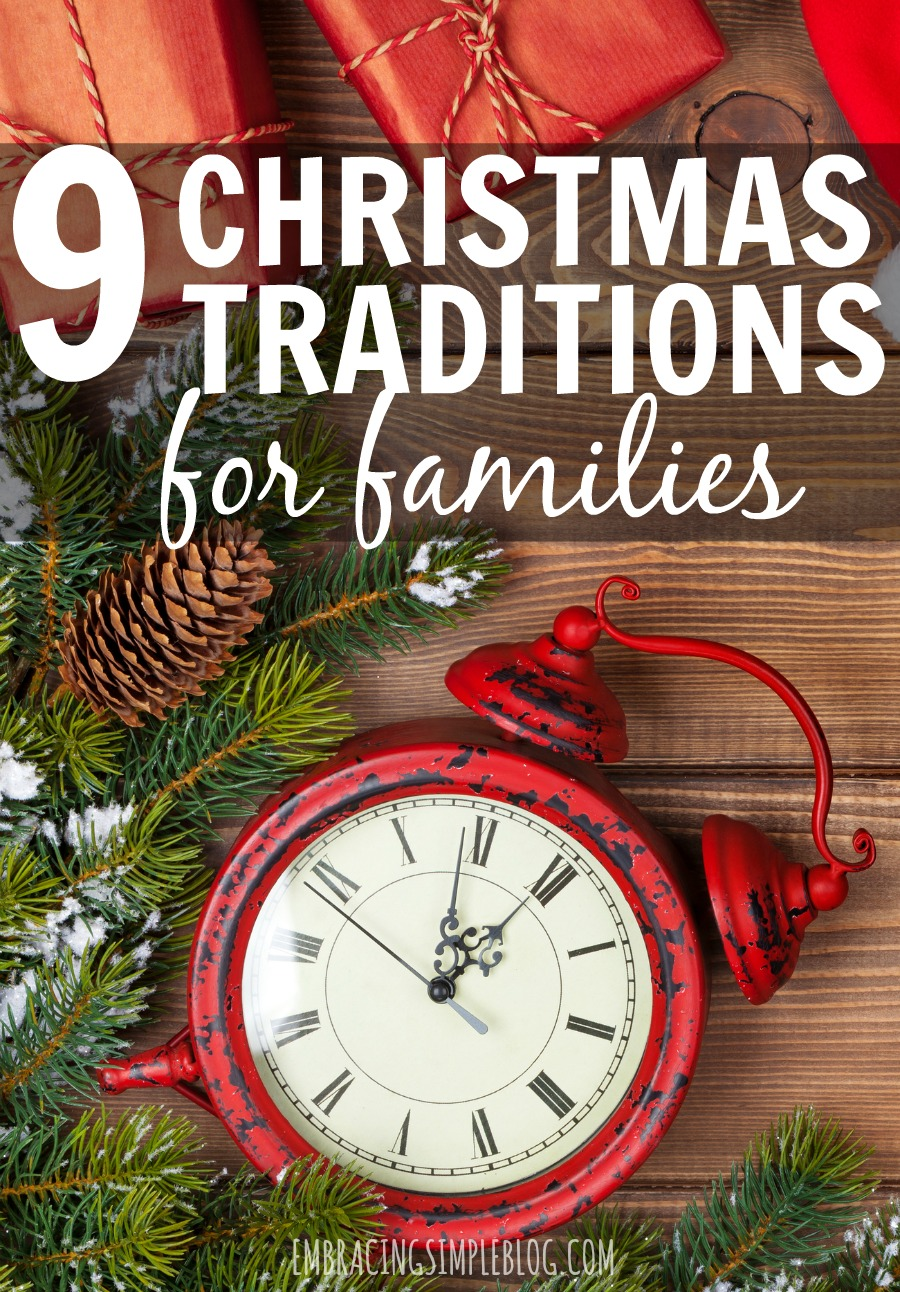 Do you feel the pressure to come up with fun and creative activities for your family to enjoy together every holiday season? Then don't miss these fabulously easy ideas for fun Christmas traditions for families that are all really simple ways to enjoy the holidays together and bring some magic back to this time of year!