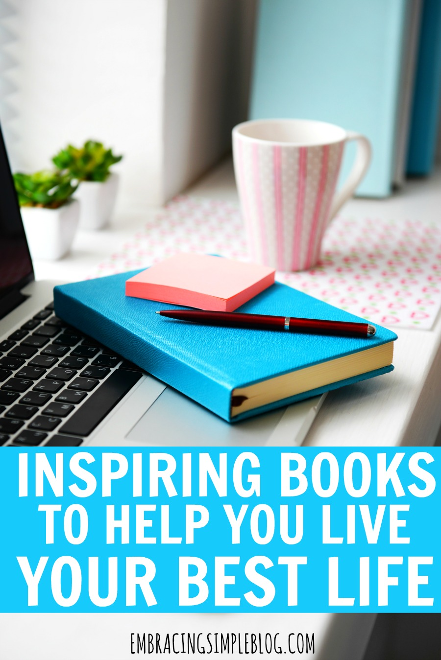 Do you want to make positive improvements in your life, but have no idea where to begin? Don't miss this fabulous list of inspiring books to help you live your best life! This list includes books that will help you to create happiness, live with less, develop better habits, live a healthier life, and create success in all aspects of your life.