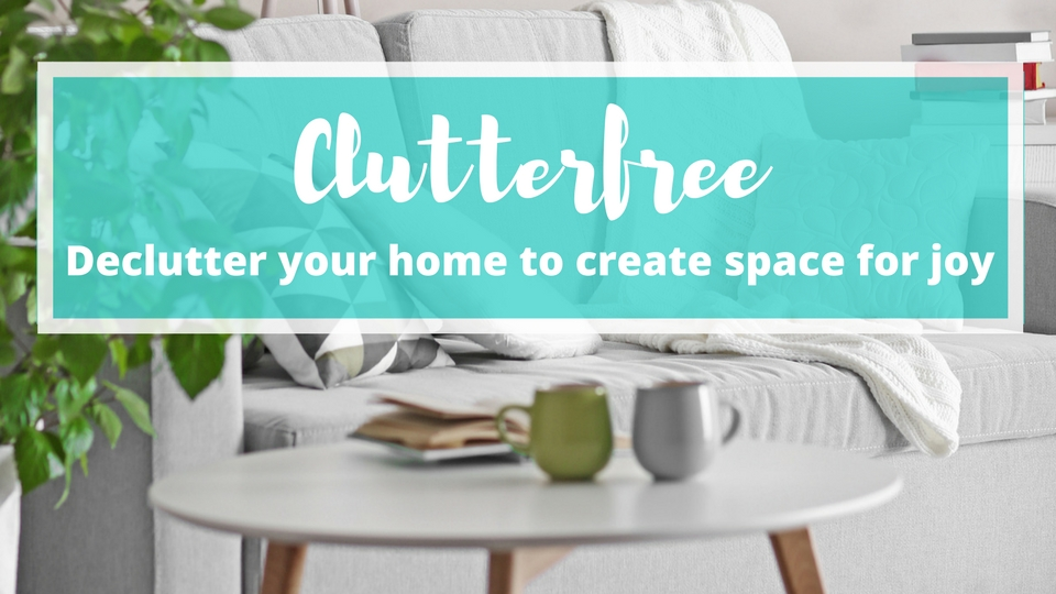 Clutterfree is an 8-week online course designed to help you declutter your home, create space for more joy, and free up your mind & heart to live the life you've always wanted.